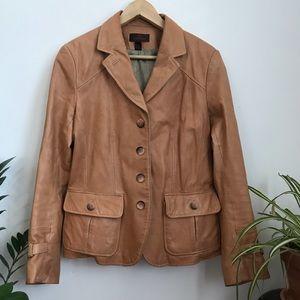 Danier Genuine Leather Blazer